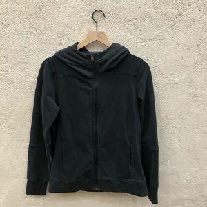 Lululemon zip up hoodie black mesh size 6